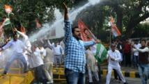 L'avenue Jantar Mantar à New Delhi, haut lieu de toutes les luttes