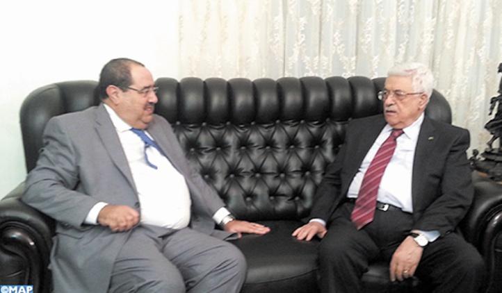 Driss Lachguar à Ramallah pour participer au VIIème congrès du Fatah