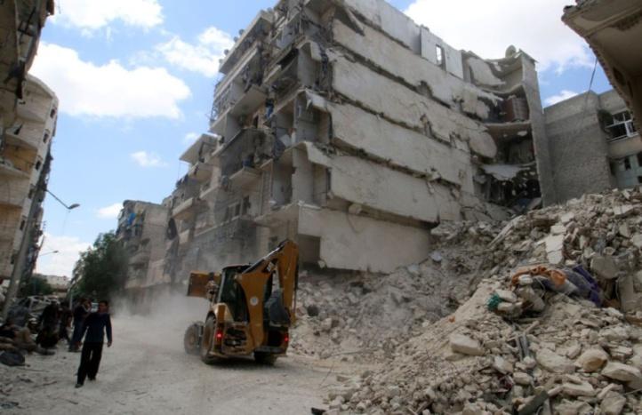 Alep risque de devenir un gigantesque cimetière