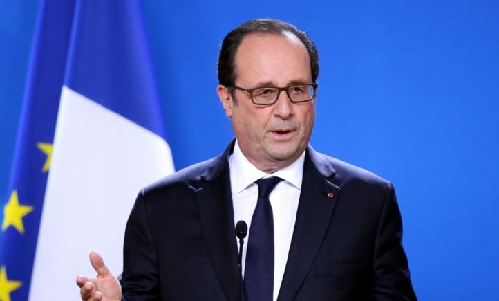 Coup de tonnerre de l'abandon du président Hollande