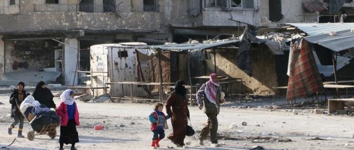 Les rebelles syriens tentent de résister à Alep-Est