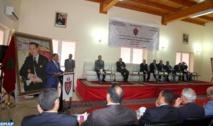 """Cérémonie de clôture d'un programme sur  la """"Sécurité et droits de l'Homme"""" à Laâyoune"""