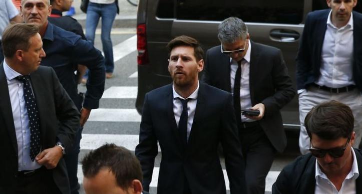 Contrôle renforcé pour le déplacement de Messi
