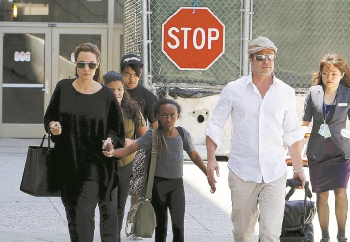 Comment Jolie et Pitt se battent pour la garde de leurs enfants