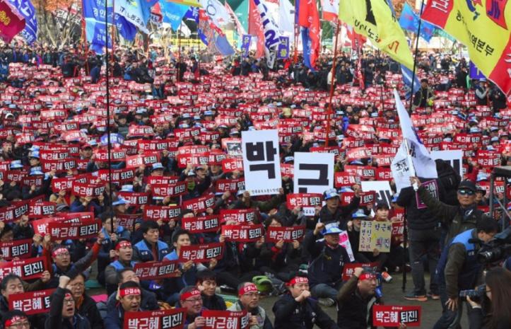 La présidente sud-coréenne présente ses excuses après sa destitution