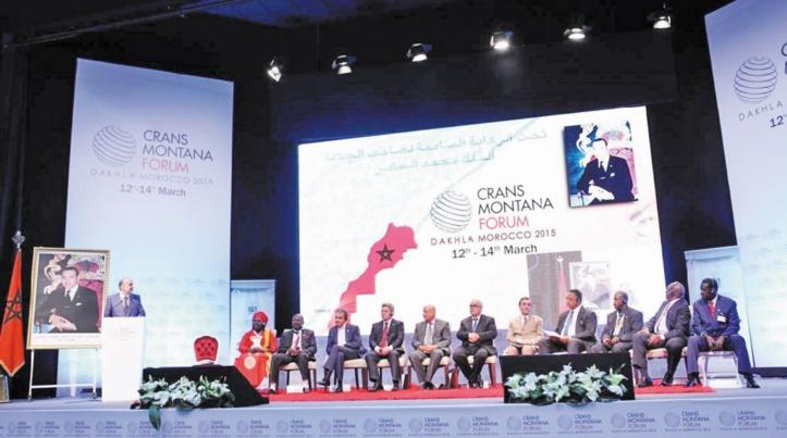 Le Forum de Crans Montana tiendra ses prochaines assises à Dakhla