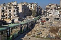 Des milliers de personnes évacuées d'Alep