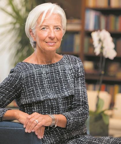 Christine Lagarde, une carrière exemplaire et un faux pas