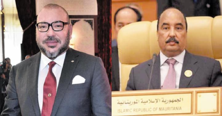 Entretien téléphonique entre S.M le Roi et le Président mauritanien