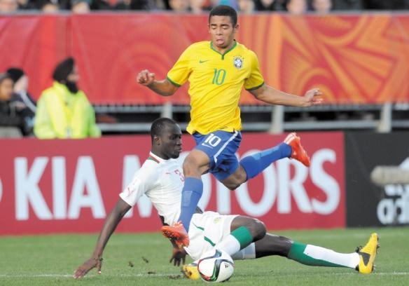 Gabriel Jesus Ascension express pour le nouveau prodige du foot brésilien