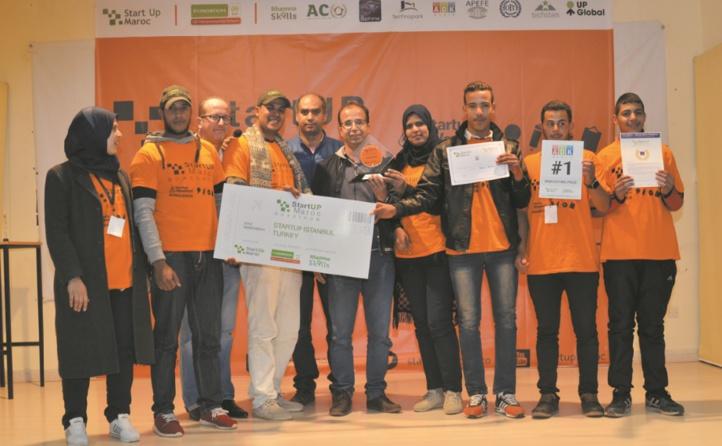 Les vainqueurs de Startup Weekend Benguerir