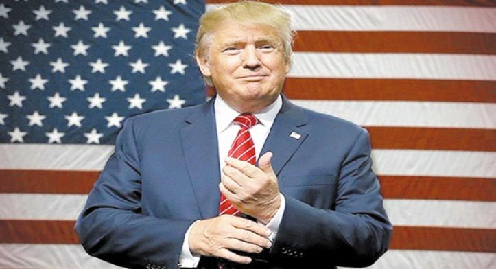 Donald Trump le 45ème président des USA entre en scène