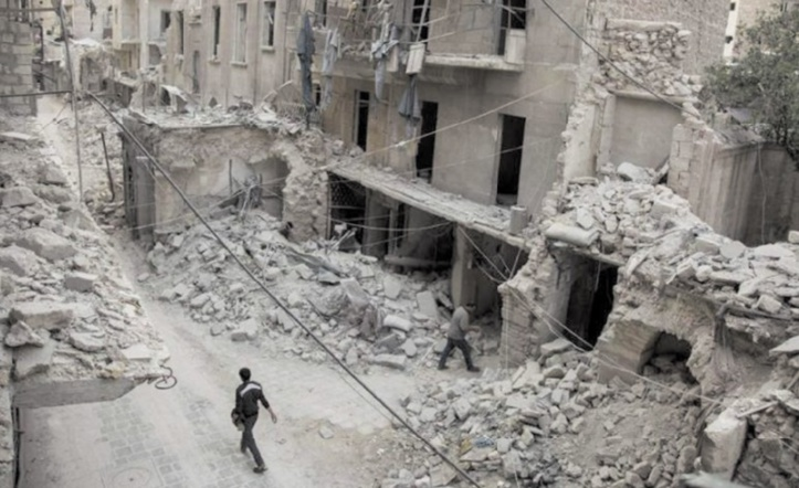 Le calvaire d'Alep