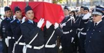 Funérailles officielles à Fès des quatre fonctionnaires de police décédés dans un accident