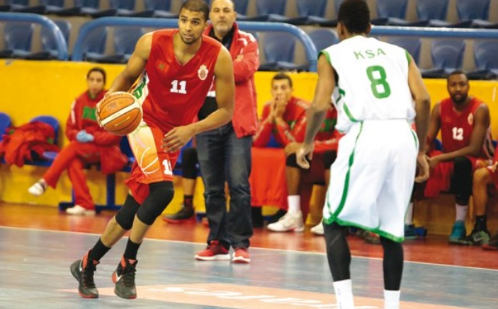 Le Cinq national au dernier carré du Championnat arabe de basket