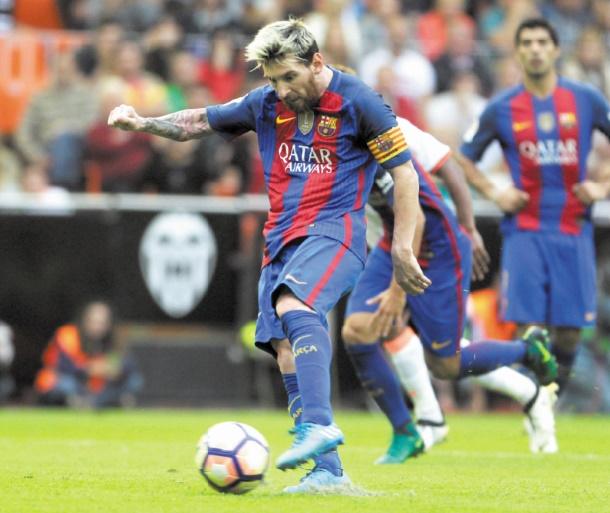 Messi sauve le point du Barça