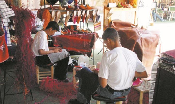 Formation par apprentissage dans le domaine de l'artisanat
