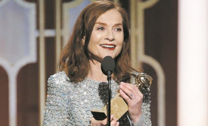 "Isabelle Huppert et ""Elle"" triomphent"