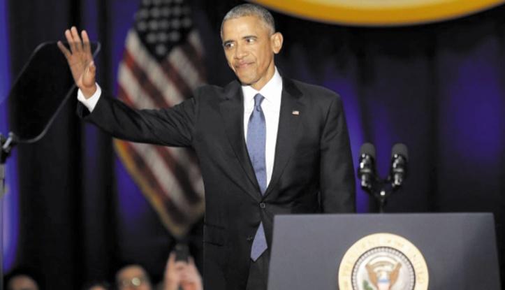 Les adieux émus de Barack Obama