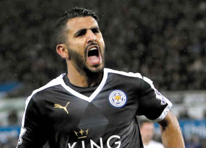 Riyad Mahrez :  Le Sarcellois devenu star de la Premier League