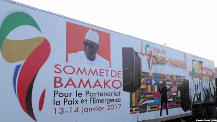 Forces africaines et respect des Constitutions à l'agenda du sommet Afrique-France à Bamako
