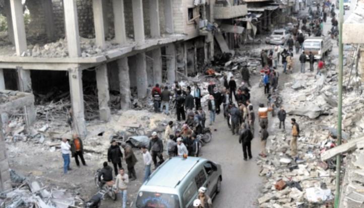 Six civils tués dans des frappes du régime en Syrie