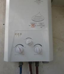 Appel au respect des règles d'installation des chauffe-eau