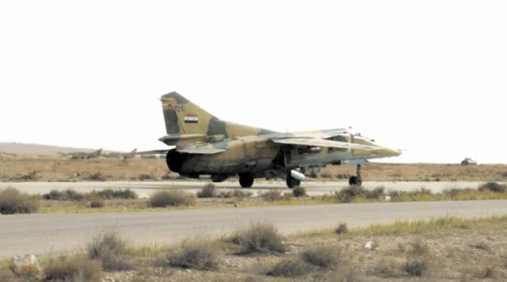 Damas accuse Israël d'avoir bombardé son aéroport militaire à Mazzé