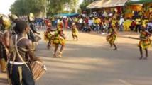 Ambiance de carnaval à Bissau