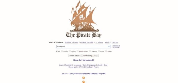 Les films les plus piratés en 2016