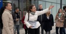 Des touristes dans les pas des sans-abri de Vienne