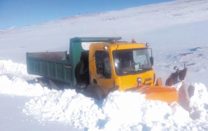 Chutes de neige : Appel aux usagers de la route à reporter leurs déplacements sauf dans le cas d'extrême nécessité