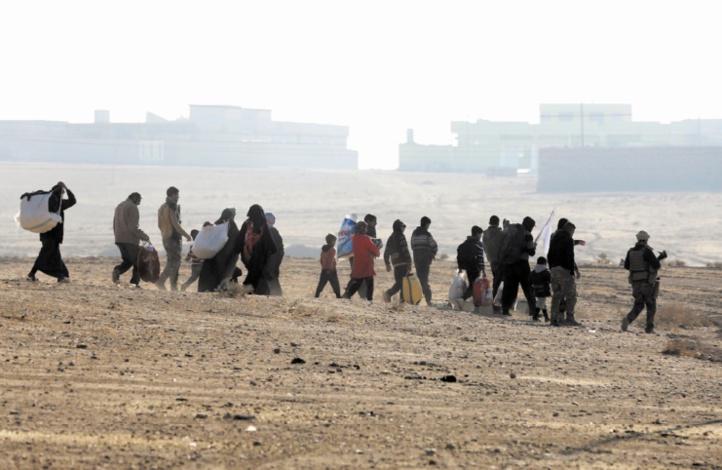 Les civils de l'ouest de Mossoul confrontés à un risque extrême