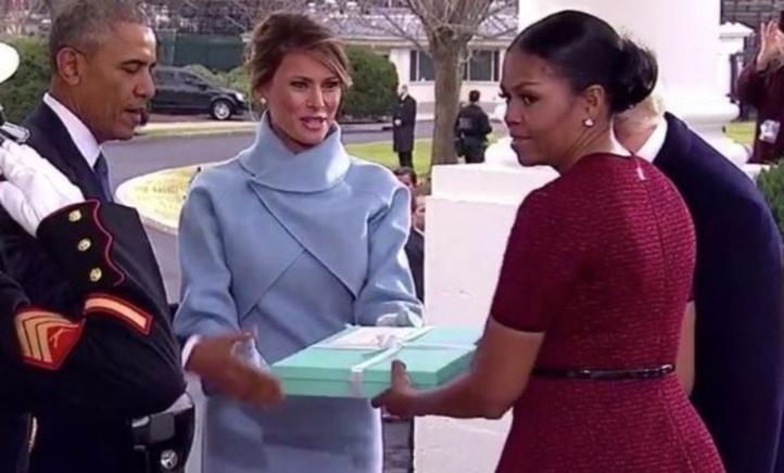 Le cadeau de Melania Trump à Michelle Obama