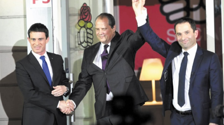 Benoît Hamon, champion des socialistes français à la présidentielle