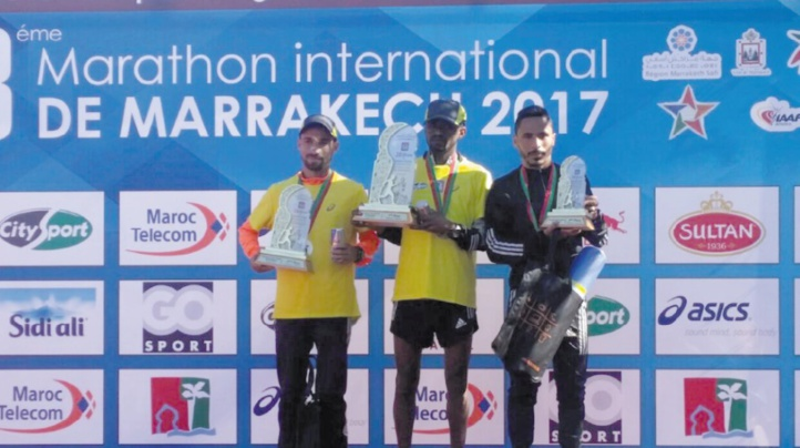 28ème édition du Marathon international de Marrakech : Podium aux couleurs éthiopie-marocaines