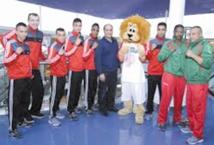 """Préparation du """"Morocco Atlas Lions""""  à la World Boxing Series"""