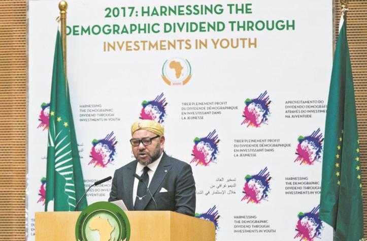 S.M le Roi devant le 28ème Sommet de l'Union africaine tenu à Addis-Abeba : C'est la voie de la solidarité, de la paix et de l'union que mon pays a choisie
