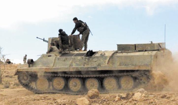 Livraison des premiers blindés américains aux forces syriennes anti-EI