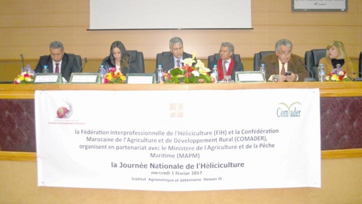 Une journée nationale consacrée à l'héliciculture