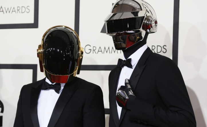 Daft Punk sur la scène des Grammy Awards