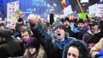 Les manifestants anticorruption  font plier le gouvernement roumain
