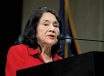 Dolores Huerta, icône militante américaine, veut toute sa place dans l'Histoire