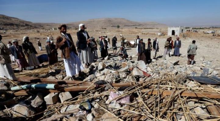 Raid aérien meurtrier sur une cérémonie de deuil au Yémen