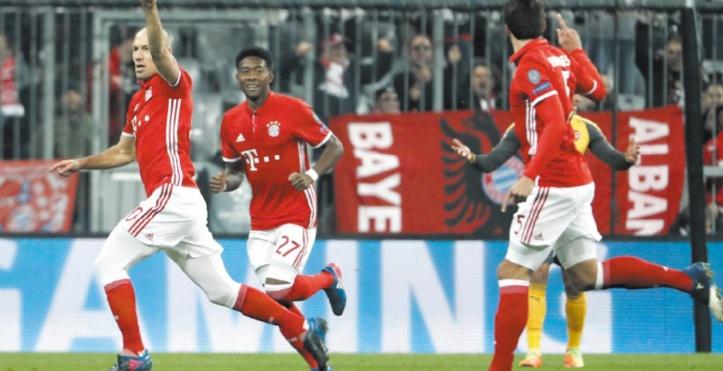 Le Bayern et le Real pratiquement aux quarts