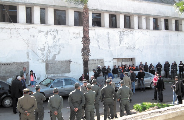 Intervention musclée des forces de l'ordre au marché de gros de Casablanca