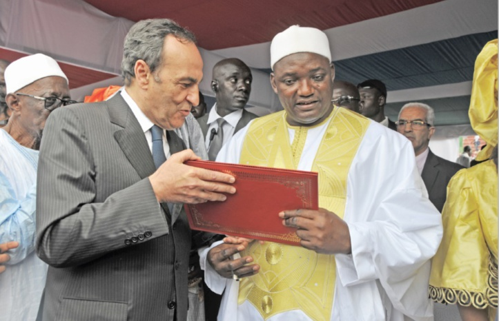 Cérémonie d'investiture du Président de la Gambie