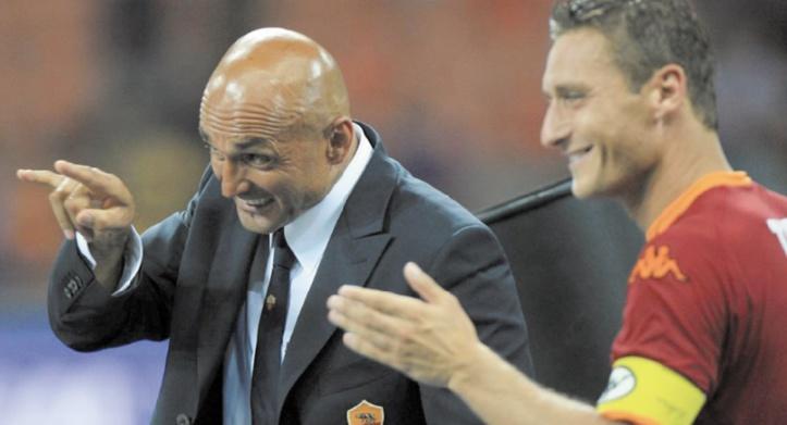 Spalletti rend hommage à Totti