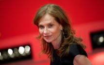 """""""Elle"""" et Isabelle Huppert attendus  aujourd'hui aux Oscars français"""