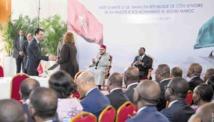 Signature de 14 conventions  maroco-ivoiriennes de partenariat